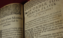 Old Book of Common Prayer