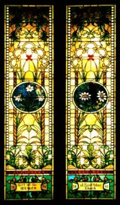 St. John's Stained Glass Windows from 1800s