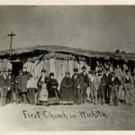 1870 | 1st church in Wichita! Congregation's articles of association, charter are signed.
