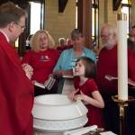 Ziva Stephen's Baptism